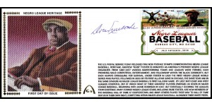 Negro League Hertiage FDC  - Large #10 (Newcombe-C)