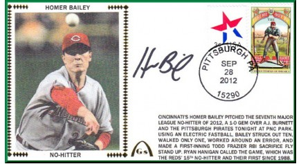 Bailey, Homer (1st No-Hitter)