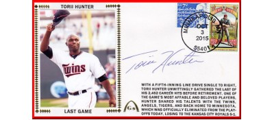 Hunter, Torii - Last Game