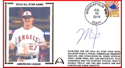 Trout, Mike 2014 All-Star (Autographed)