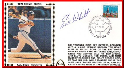 Whitt, Ernie Ten Home Runs