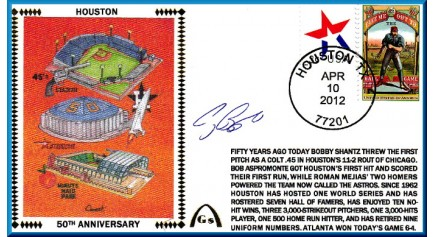 Houston Astros 50th Anniversary (Biggio)