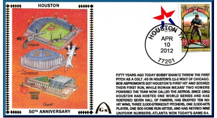 Houston Astros 50th Anniversary (Unautographed)