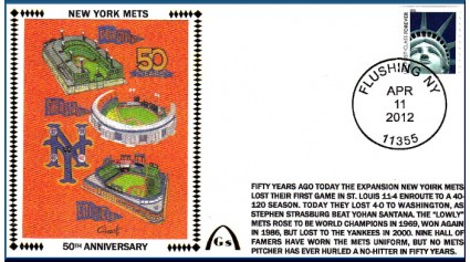 New York Mets 50th (Error-TO BE RETIRED)