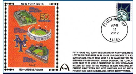 New York Mets 50th (Error- RETIRED)