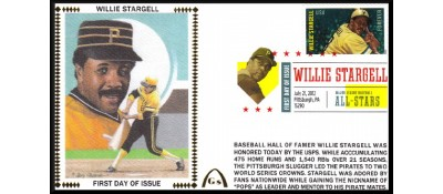 Hall Of Fame FDC - Stargell, Willie (Unautographed)