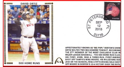 Ortiz, David 500 Homers (Delivery Ready To Start)