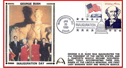 Bush, President George H. W. (Unautographed)
