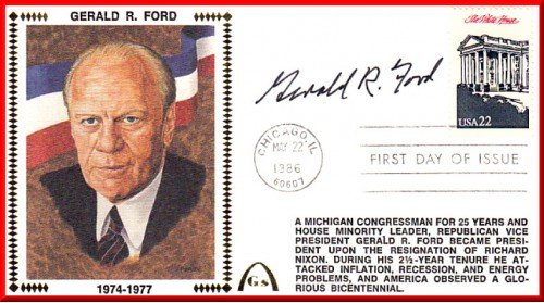 Ford, Gerald  (Presidental) FDC