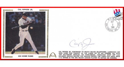 Ripken, Jr Cal (400 HR Large #10)