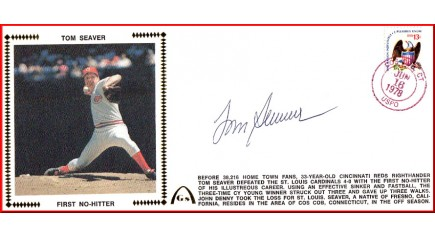 Seaver, Tom (No-Hiter - Large #10)  SOLD OUT