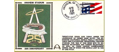 Anaheim Stadium  25th Anniversary