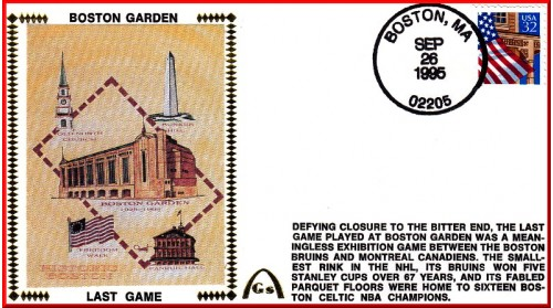 Boston Garden (Last Game) Unautographed