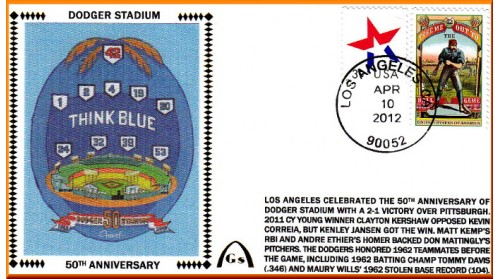 Dodger Stadium 50th (Short #6) Unautographed