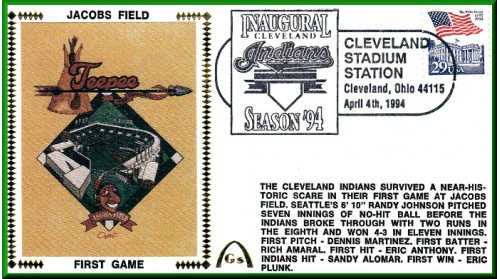 Cleveland Jacobs Field  1st (Unautographed)