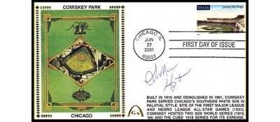 Legendary Playing Fields FDC Comiskey Park (LaMARR HOYT) - Hand cancel