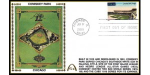 Legendary Playing Fields FDC Comiskey Park (Unautographed) MachineCancel