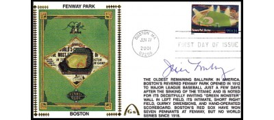 Legendary Playing Fields FDC Fenway Park (Machine Cancel) Jim Lonberg