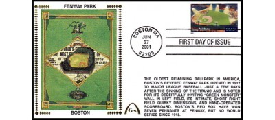 Legendary Playing Fields FDC Shibe Park (Unautographed) Hand Cancel