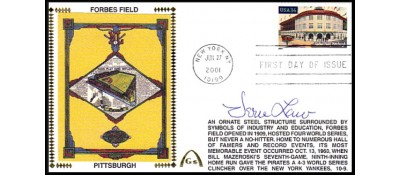 Legendary Playing Fields FDC Forbes Field Vern Law (Meter Cancel)