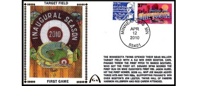 Target Field (1st Game) Unautographed