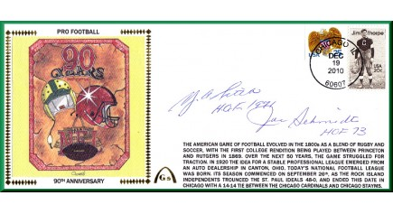 Schmidt, Joe/Y.A. Tittle (90th Anniversary -Large #10)