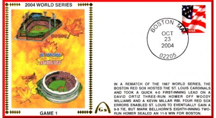 World Series 2004 -Boston Vs. St Louis (UNAUTOGRAPHED)