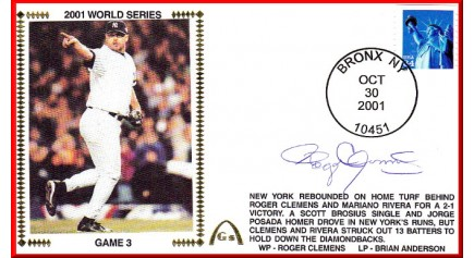 World Series 2001 - New York Vs. Arizona (ADD: Roger Clemens)