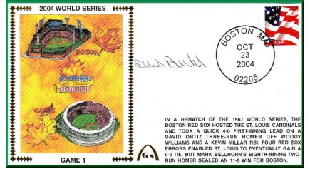 World Series 2004 - Boston Vs. St Louis (ADD: Ellis Burks - Gm.1)