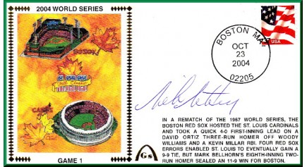 World Series 2004 - Boston Vs. St Louis (ADD: Mike Matheny - Gm 1)