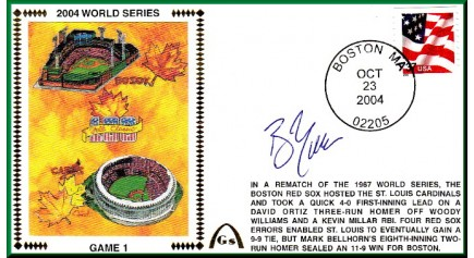 World Series 2004 - Boston Vs. St Louis (ADD: Bill Mueller - Gm 1)