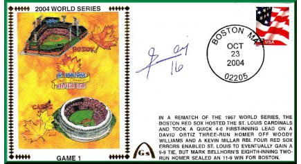 World Series 2004 - Boston Vs. St Louis (ADD: Edgar Renteria - Gm.1)