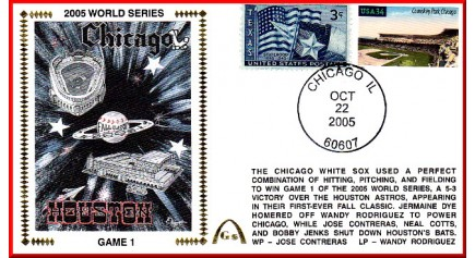 World Series 2005 - Chicago vs Houston  (UNAUTOGRAPHED)
