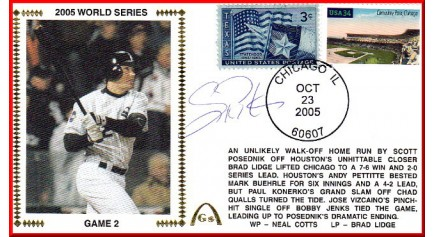 World Series 2005 - Chicago  vs Houston (ADD:Podsednik)