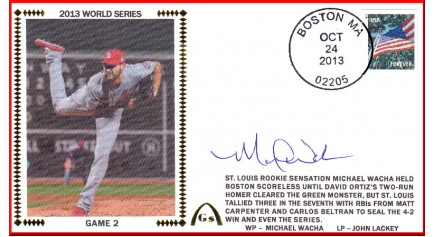 World Series 2013 - St. Louis vs Boston - Game 2 (ADD:Michael Wacha)