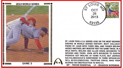 World Series 2013 St. Louis vs Boston - Game 3 (ADD: Allen Craig)
