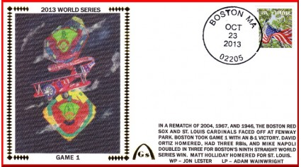 World Series 2013 St. Louis vs Boston - (Unautographed Set)