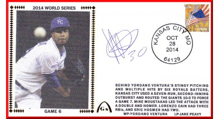 World Series 2014 – San Francisco vs Kansas City - Game 6 (ADD: Yordano Ventura)