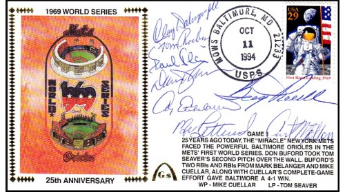 World Series 1969 Set - ( Dalrymple,Blair, Phoebus, Etchebarren, Johnson, Powell,Rettenmund,Motton Gm1)