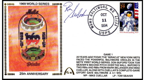 World Series 1969 Set (Ron Swoboda  -Gm 1)