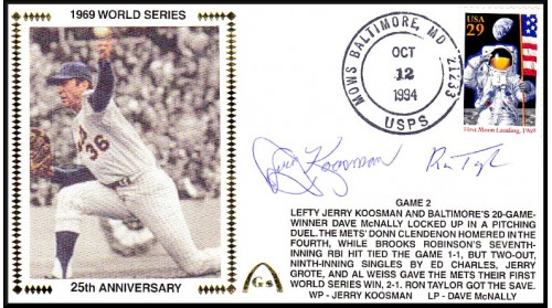 World Series 1969 (ADD:- Koosman/Taylor -Gm 2)
