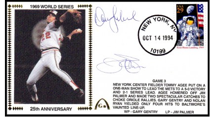 World Series 1969 (ADD:- Jim Palmer & Dave Leonhard -Gm 3)
