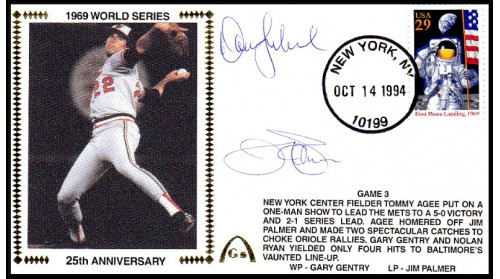 World Series 1969 - ADD:Palmer & Dave Leonhard  (Gm 3)