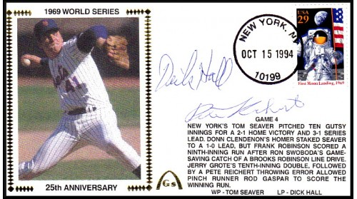 World Series 1969 (ADD:- Dick Hall/ Pete Richert - Gm 4)