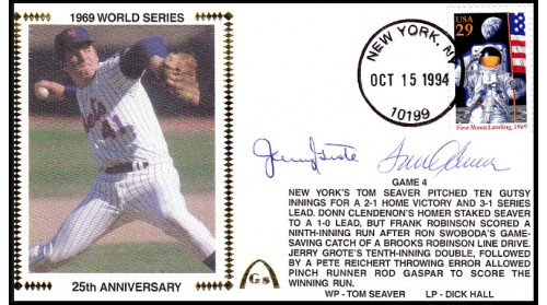 World Series 1969 (ADD:- Seaver/Grote -Gm 4)