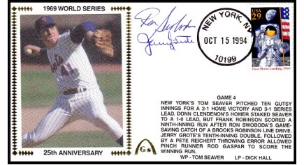World Series 1969 (ADD:- Swaboda/Jerry Grote-Gm 4)