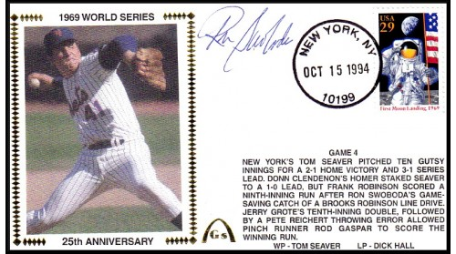 World Series 1969 (ADD:- Ron Swaboda - Gm 4)