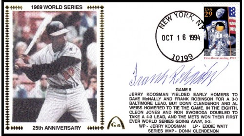 World Series 1969 (ADD:- Frank Robinson -Gm 5)
