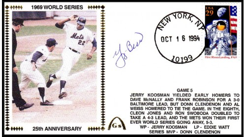 World Series 1969 (ADD:- Berra  -Gm 5)