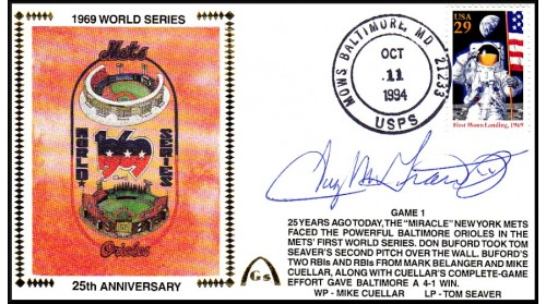 World Series 1969 Set  (Tug McGraw -Gm 1)